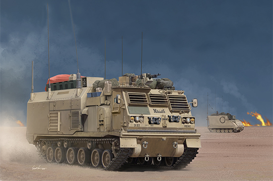 1/35 M4 Command and Control Vehicle (C2V) 01063