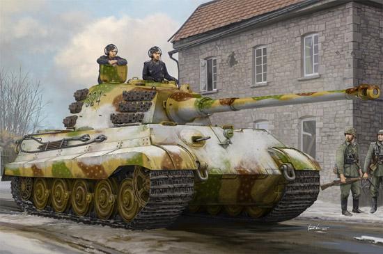 1/35 Pz.Kpfw.VI Sd.Kfz.182 Tiger II (Henschel Feb-1945 Production) 84532