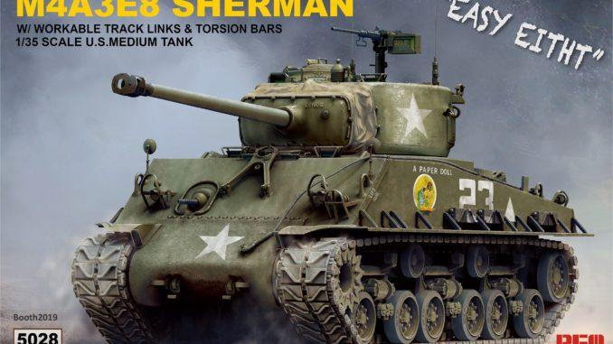 1/35 M4A3E8 SHERMAN RM-5028 RYE FIELD MODEL