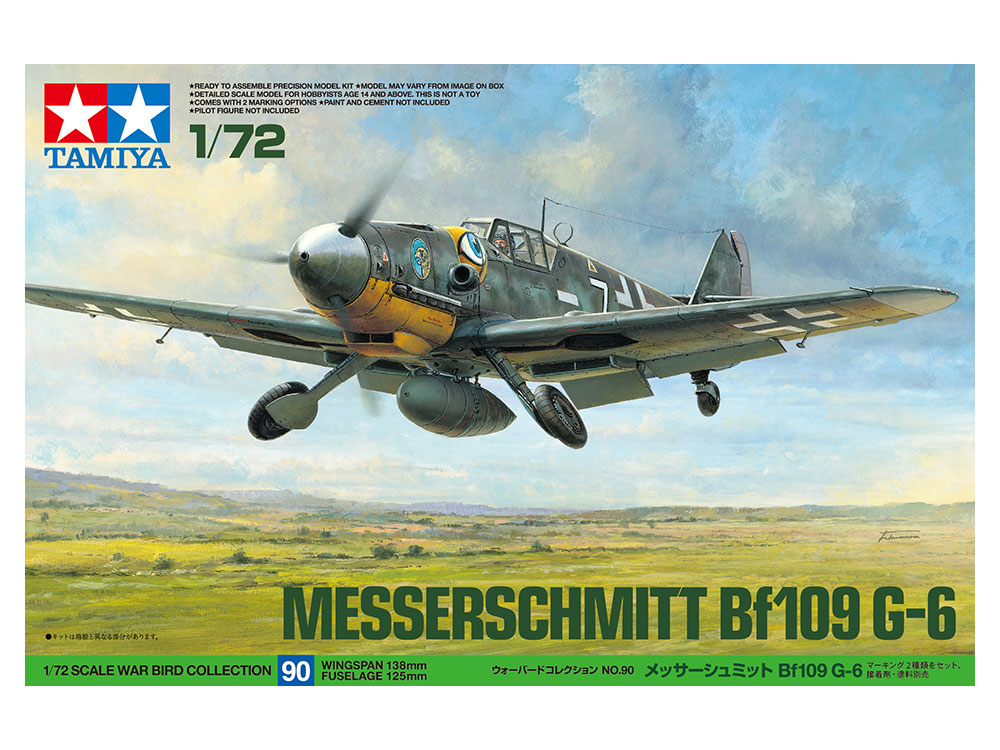 1/72 Messerschmitt Bf109 G-6 60790