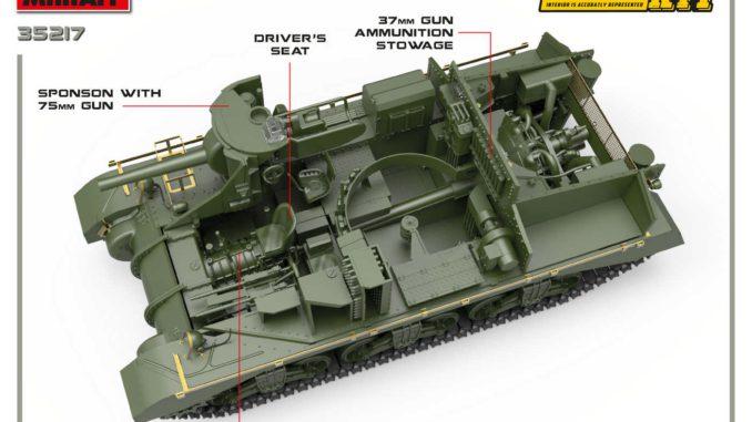 1/35 GRANT Mk.I INTERIOR KIT 35217