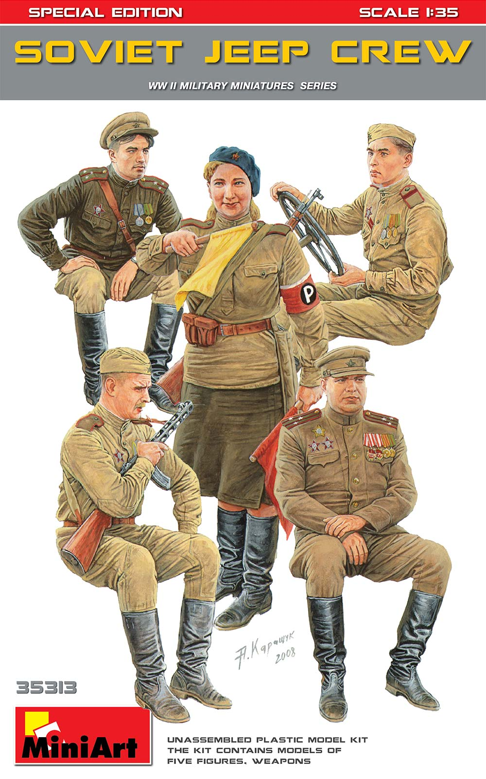 1/35 SOVIET JEEP CREW. SPECIAL EDITION 35313