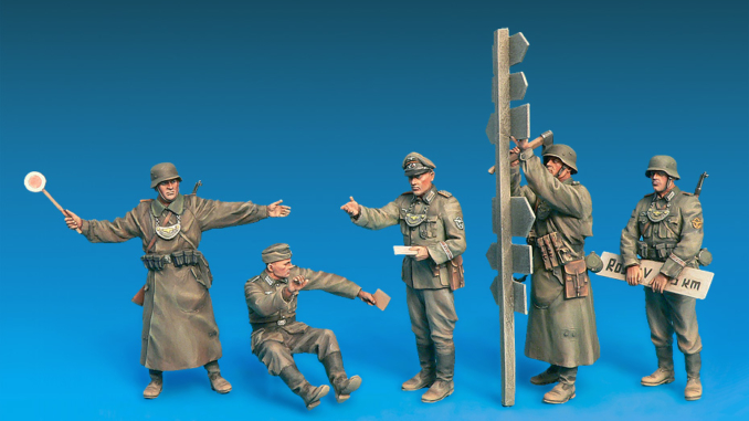 1/35 GERMAN FELDGENDARMERIE. SPECIAL EDITION 35315