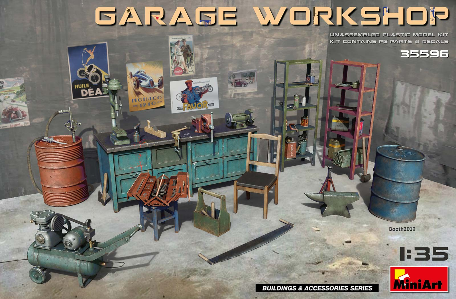 1/35 GARAGE WORKSHOP 35596