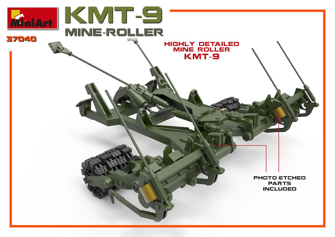 1/35 MINE-ROLLER KMT-9 37040
