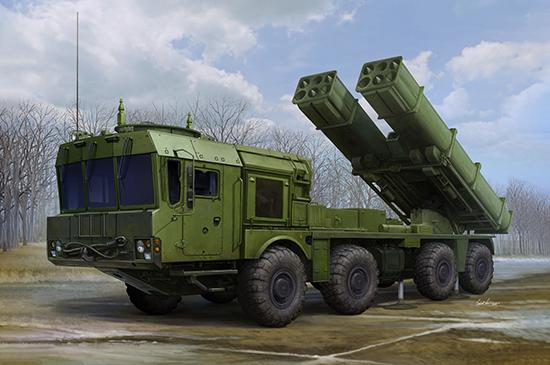 1/35 Russian 9A53 Uragan-1M MLRS (Tornado-s) 01068