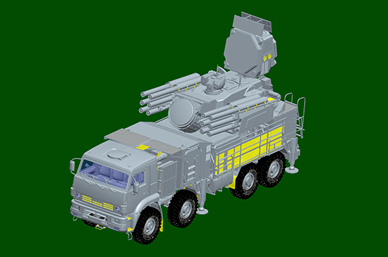 1/35 Russian 72V6E4 Combat Unit of 96K6 Pantsir -S1 ADMGS(w/RLM SOC S-band Radar) 01061