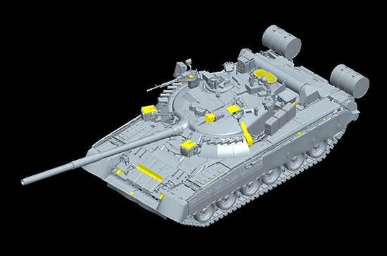 1/35 Russian T-80UK MBT 09578