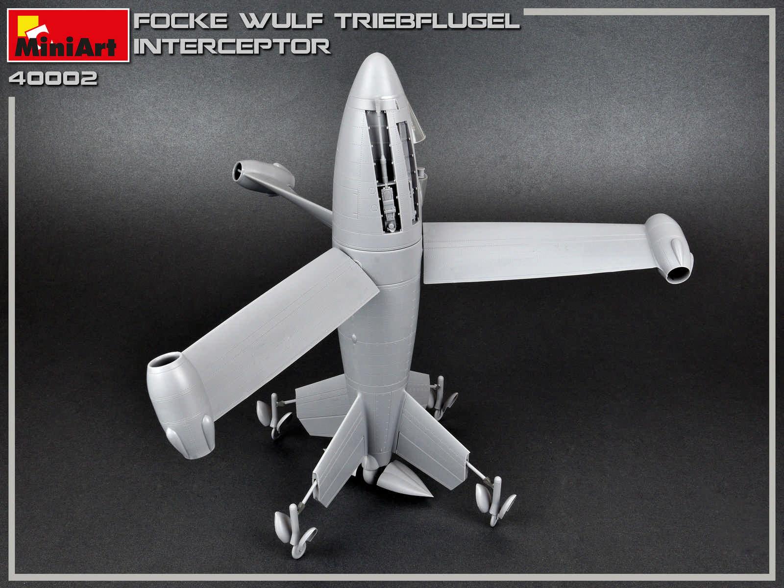 1/35 FOCKE WULF TRIEBFLUGEL INTERCEPTOR 40002