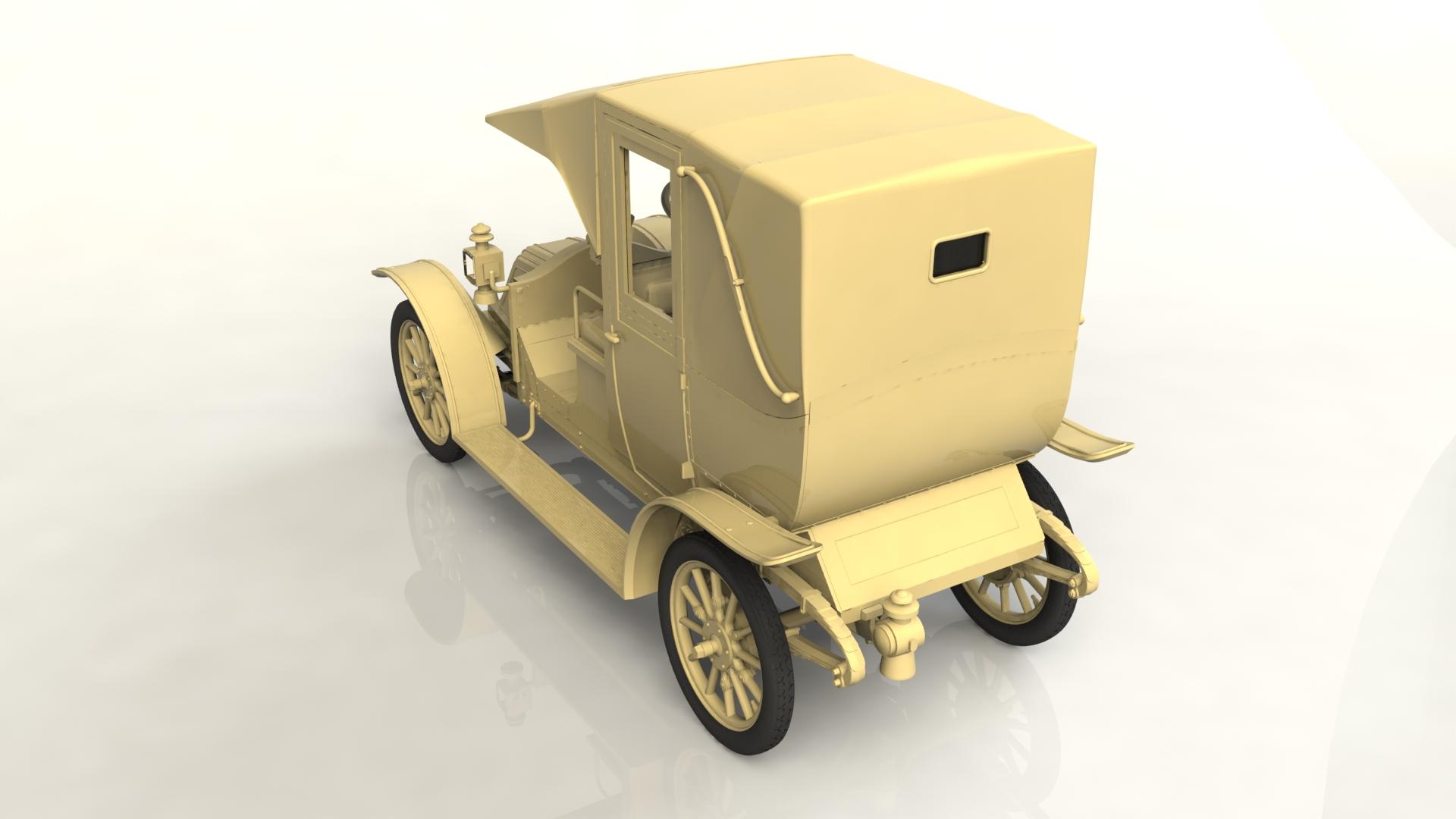 1/24 Type AG 1910 Paris Taxi (100% new molds) 24030