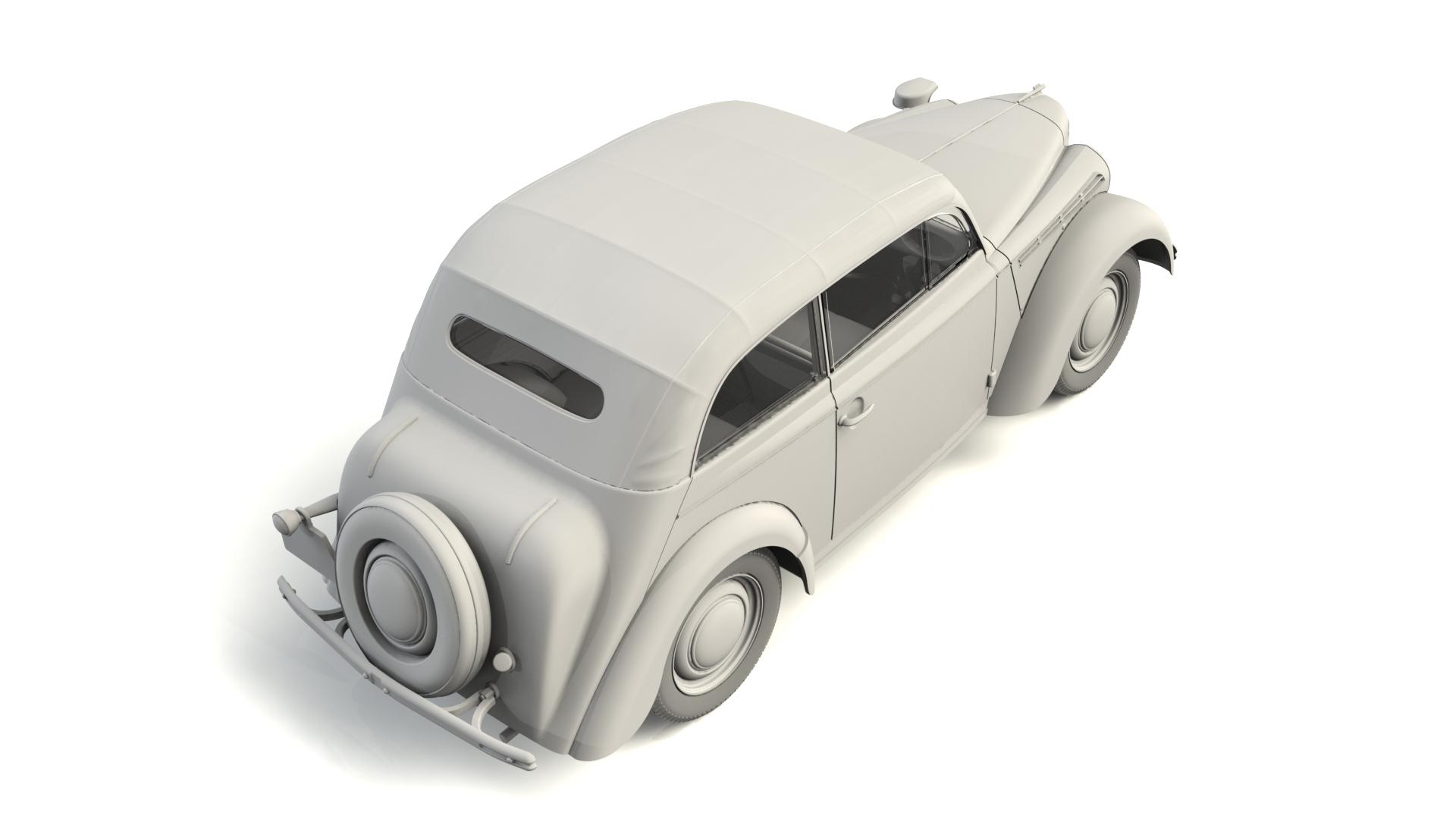 1/35 Kadett K38 Cabriolimousine, WWII German Staff Car 35483