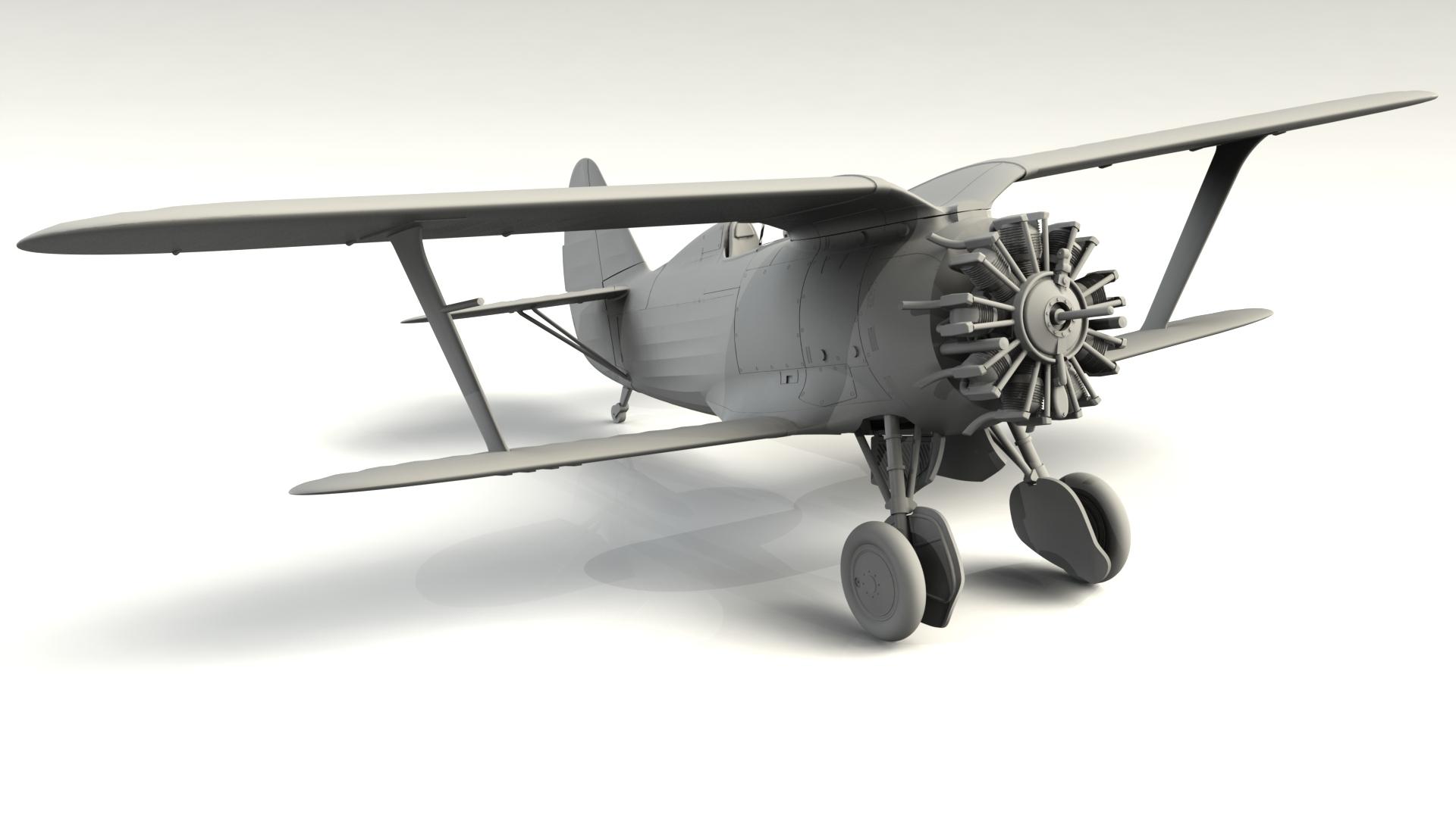 1/48 I-153, WWII China Guomindang AF Fighter 48099