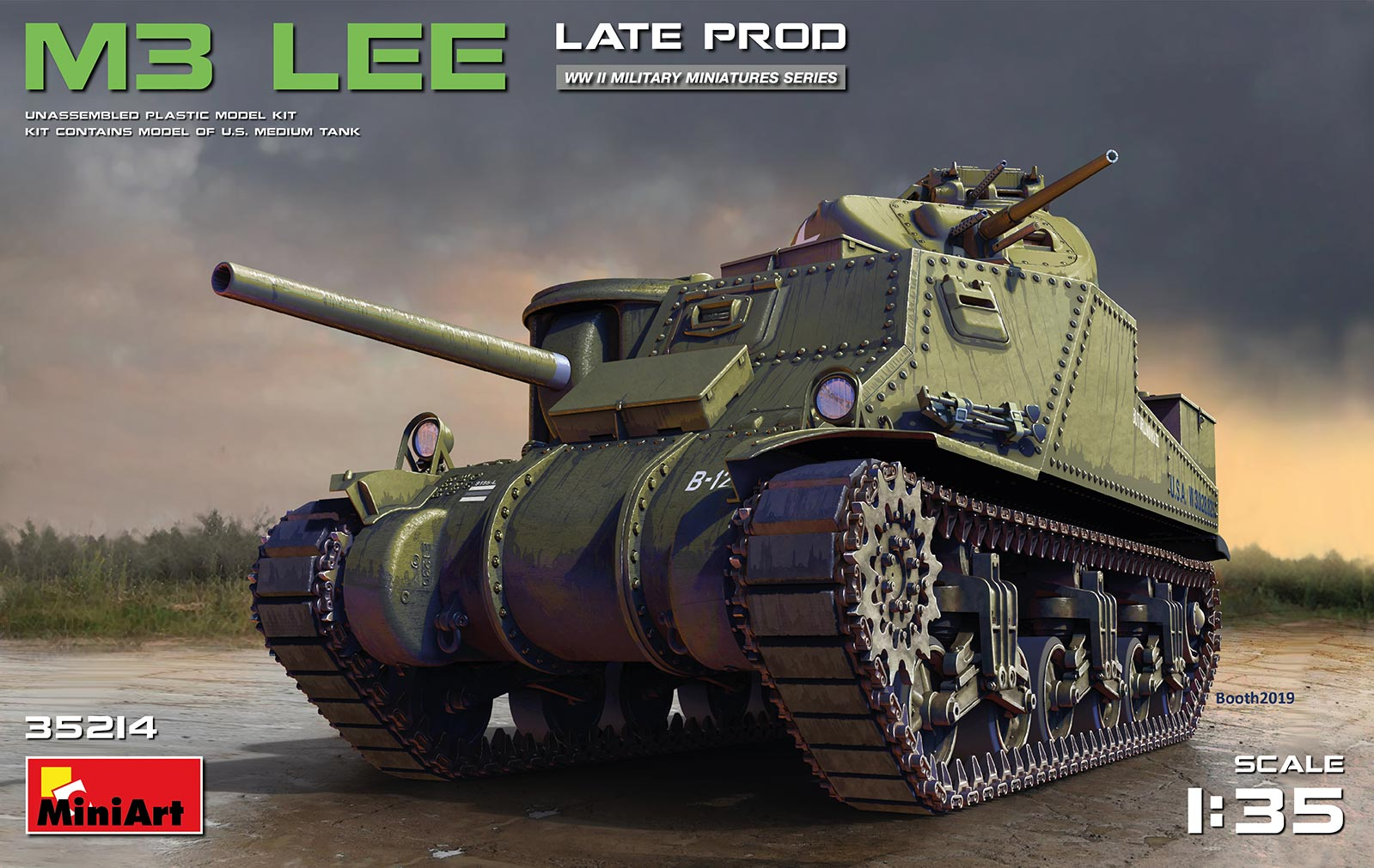 1/35 M3 LEE LATE PROD. 35214