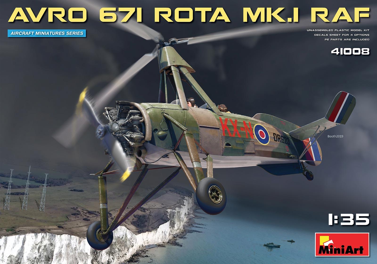 1/35 AVRO 671 ROTA MK.I RAF 41008