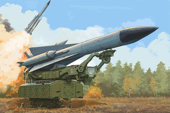 "1/35 Russian 5V28 of 5P72 Launcher SAM-5 ""Gammon"" 09550"
