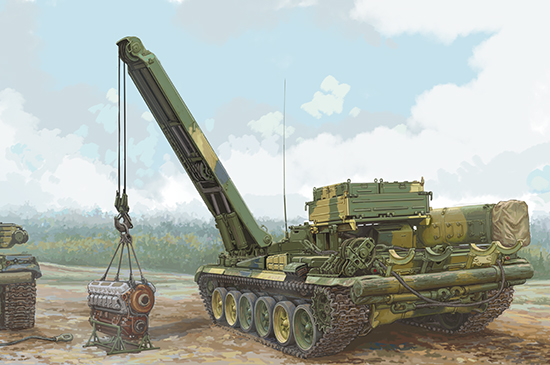 1/35 Russian BREM-1 Armoured Recovery Vehicle 09553