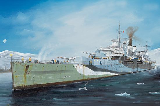1/350 HMS Kent 05352