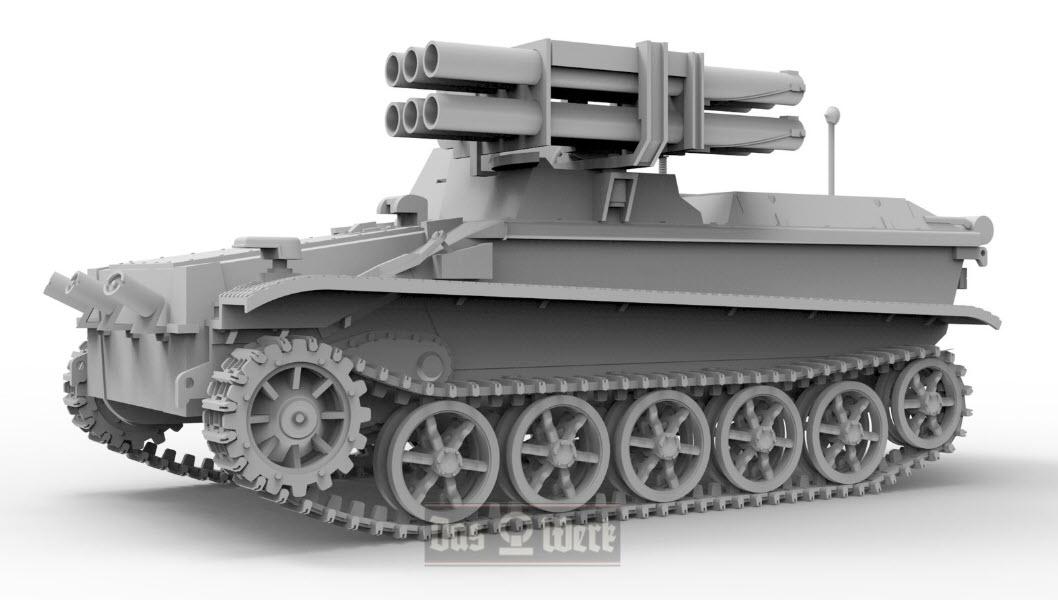 1/35 Borgward IV Panzerjäger Wanze 35008