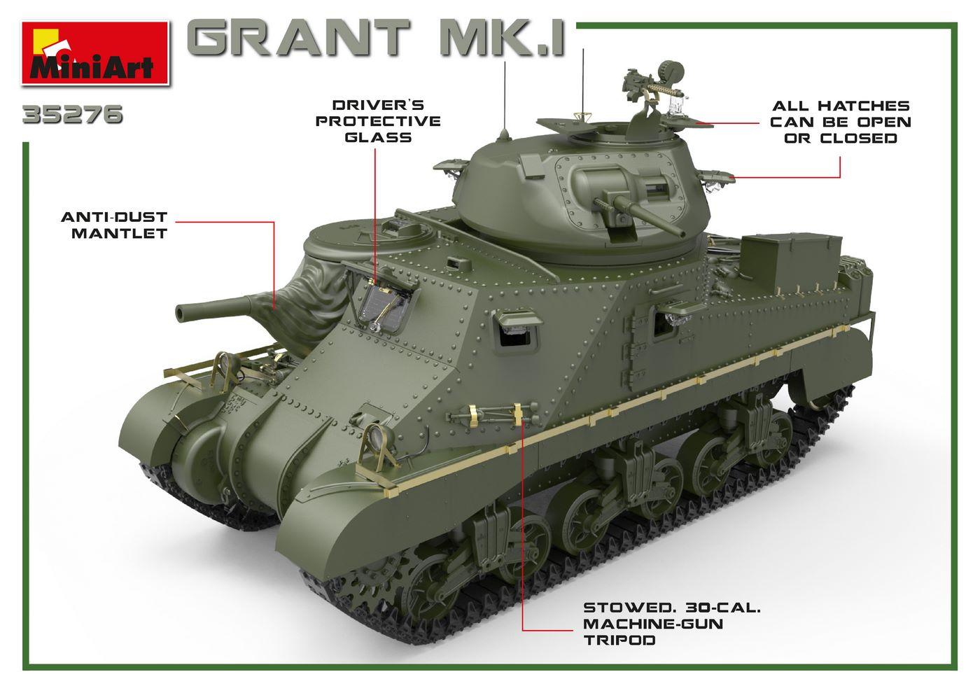 1/35 GRANT Mk.I 35276