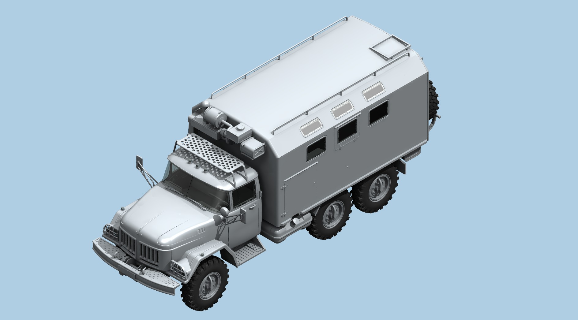 1/35 ZiL-131 KShM with Soviet Drivers 35524
