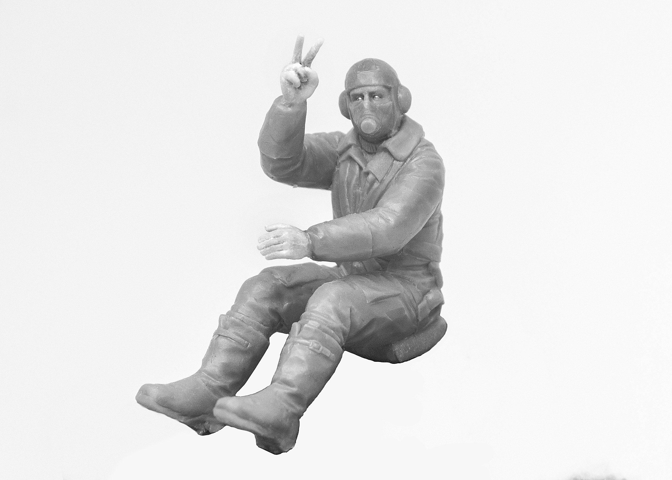 1/32 British Pilots (1939-1945) (3 figures) (100% new molds) 32105