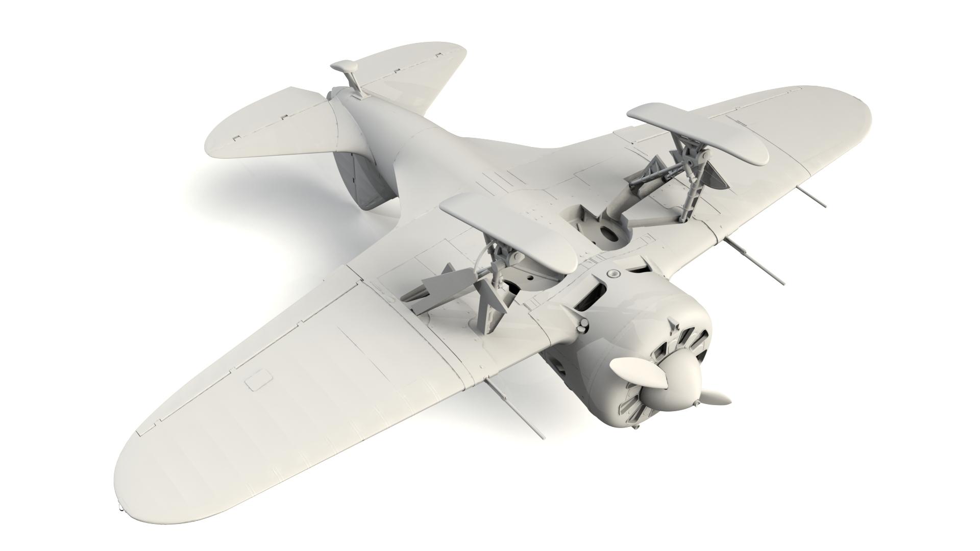 1/32 I-16 type 17, WWII Soviet Fighter 32005
