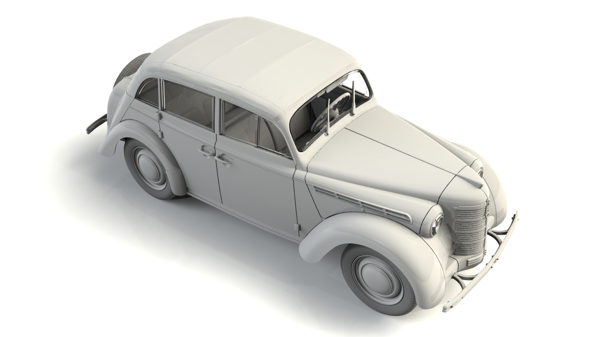 1/35 Moskvitch-401-420A, Soviet Passenger Car 35484