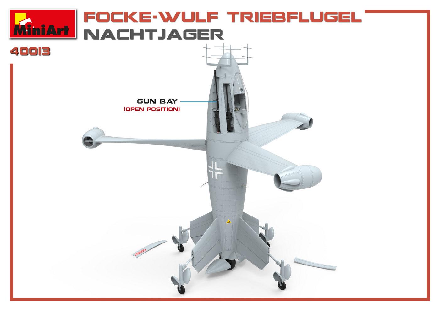 1/35 FOCKE WULF TRIEBFLUGEL NACHTJAGER 40013
