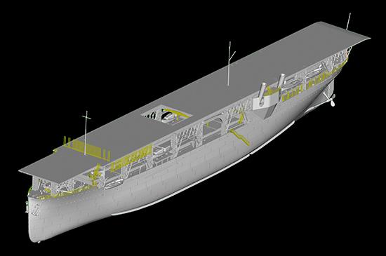 1/350 USS Langley CV-1 05631