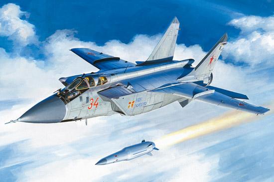 1/48 MiG-31BM. w/KH-47M2 81770