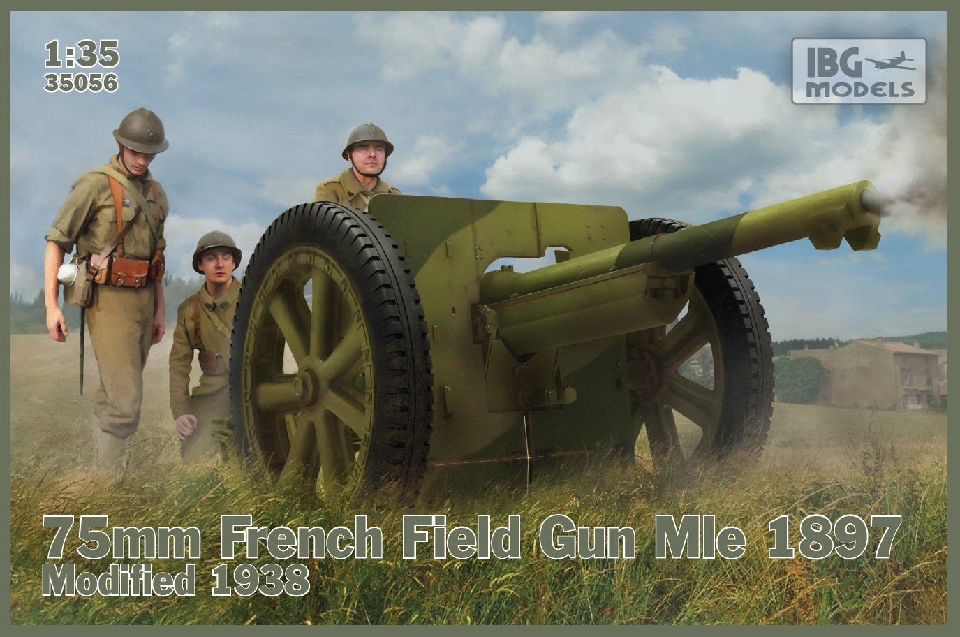 1/35 75mm French Field Gun Mle 1897 – Modified 1938 35056