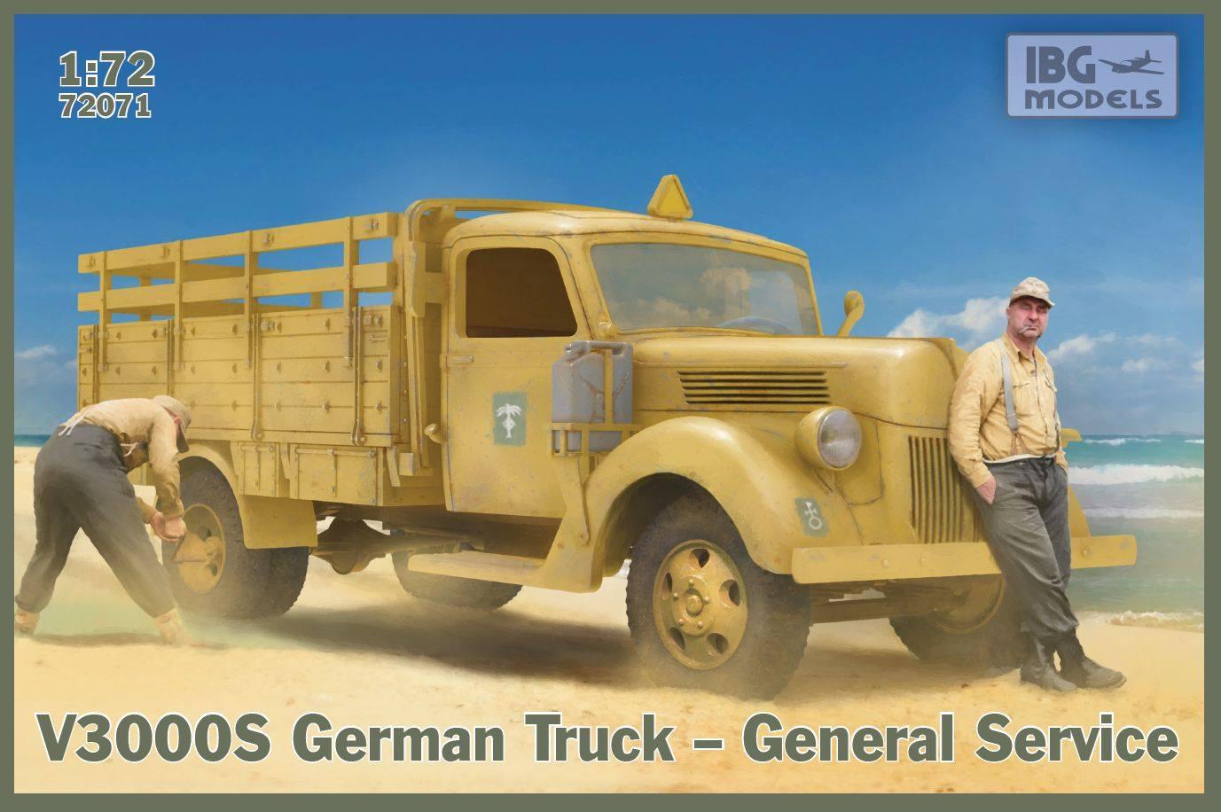 1/72 V3000S German Truck – General Service 72071