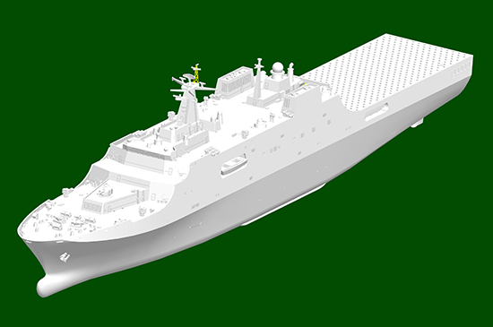 1/700 PLA Navy Type 071 Amphibious Transport Dock 06726