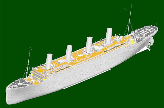 1/200 RMS Titanic Mail Ship 03719