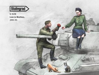 1/35 'Love in Wartime', (Russian tank crew) 1943-45, Product number #3578