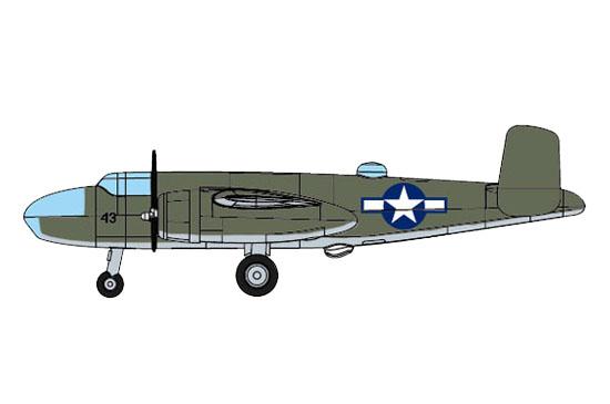 1/350 B-25 (Pre-painted) 06401