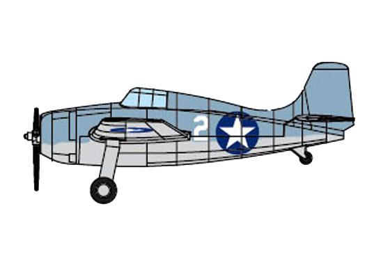 1/350 F4F-4 WILDCAT (Pre-painted) 06402