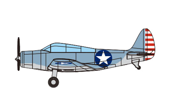 1/350 TBD-1 DEVASTATOR (Pre-painted) 03403