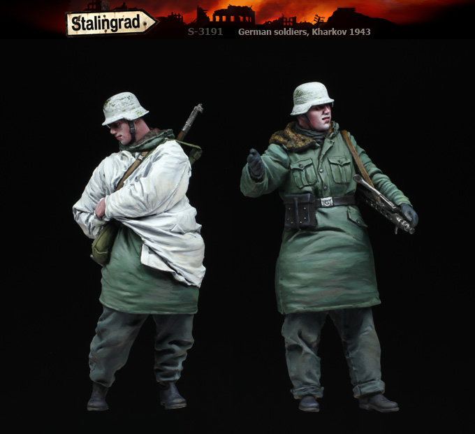 1/35 German soldiers, Kharkov 1943 S-3191