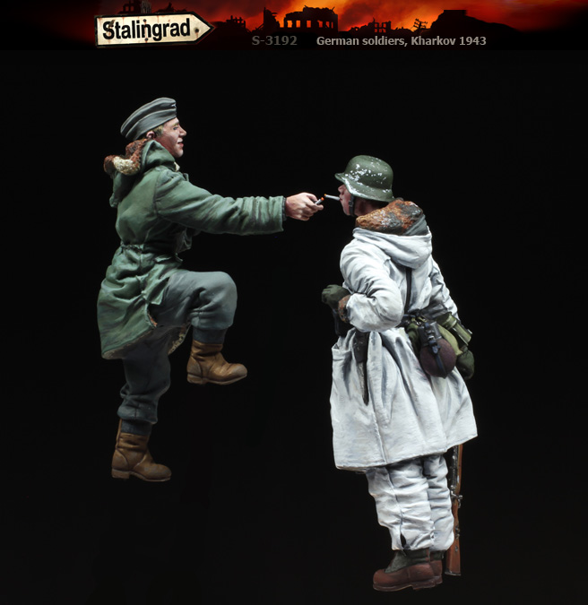1/35 German soldiers, Kharkov 1943 S-3192